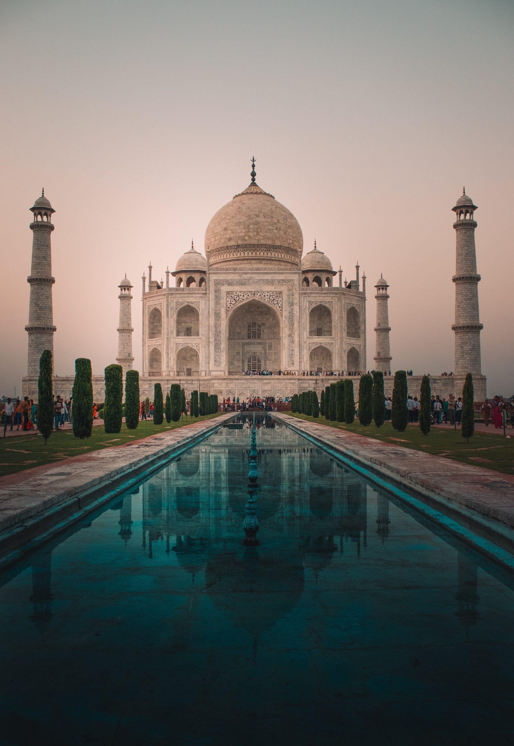 wallpaper Taj Mahal, India
