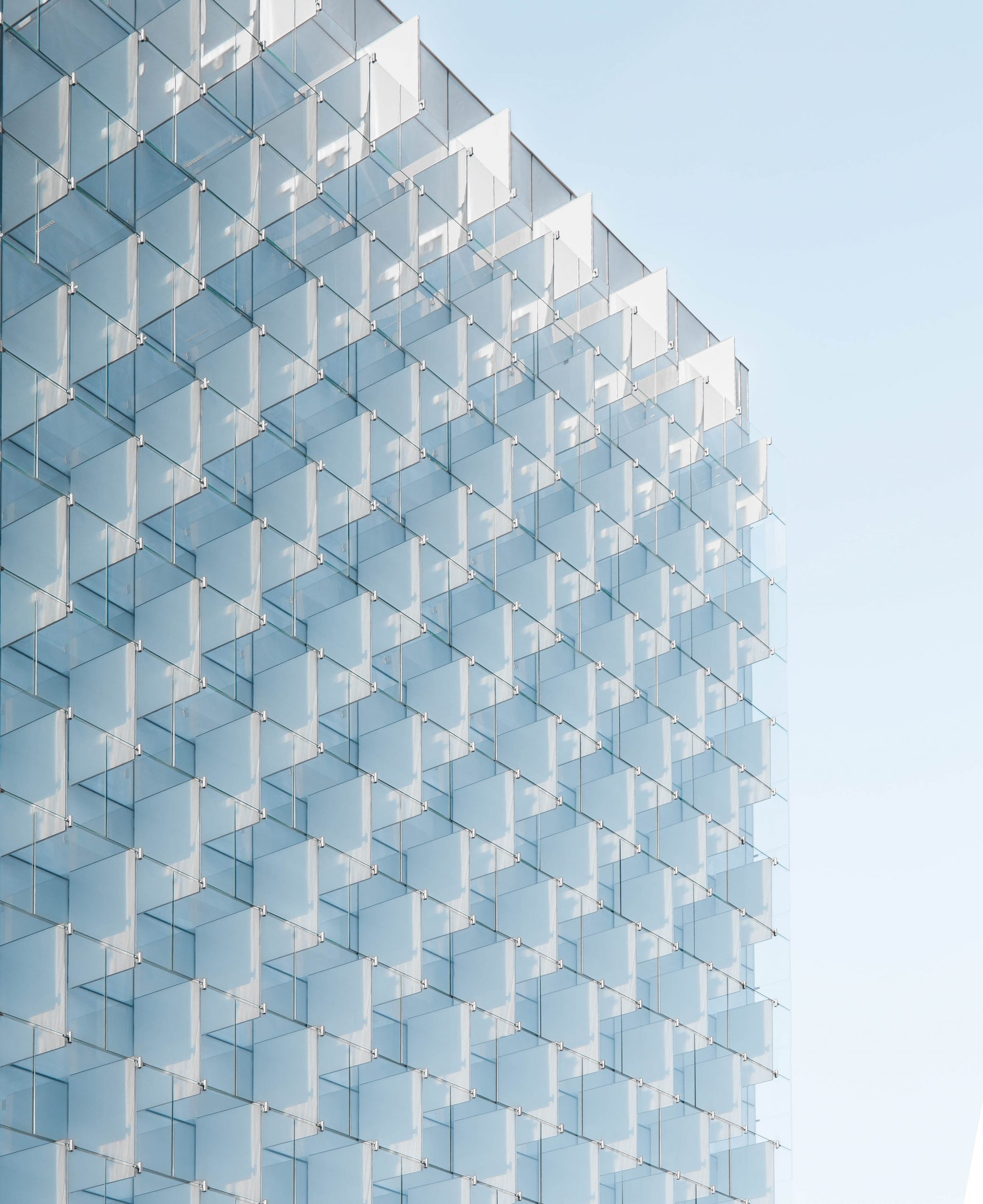 wallpaper Clear glass building