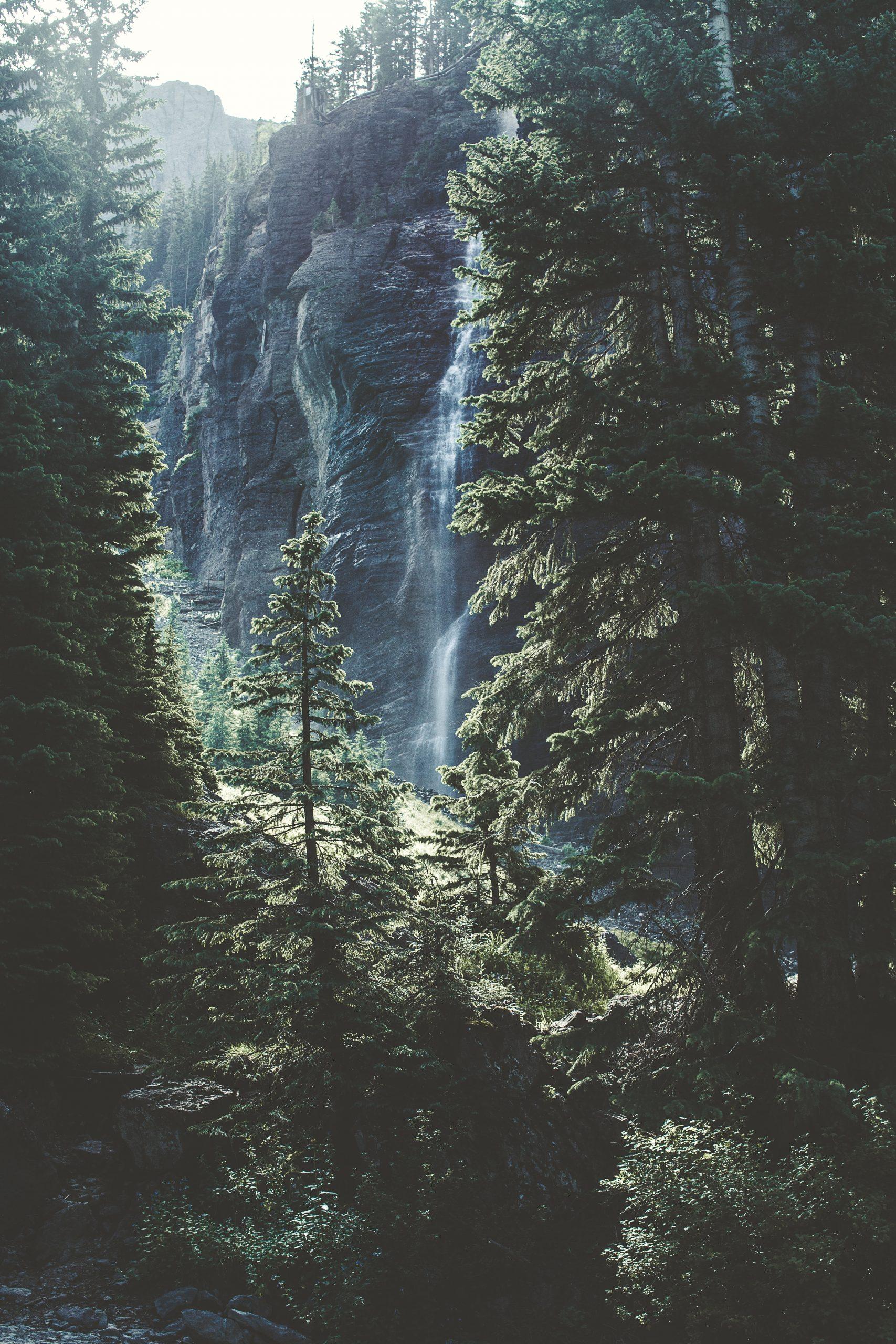 wallpaper Waterfall in Telluride