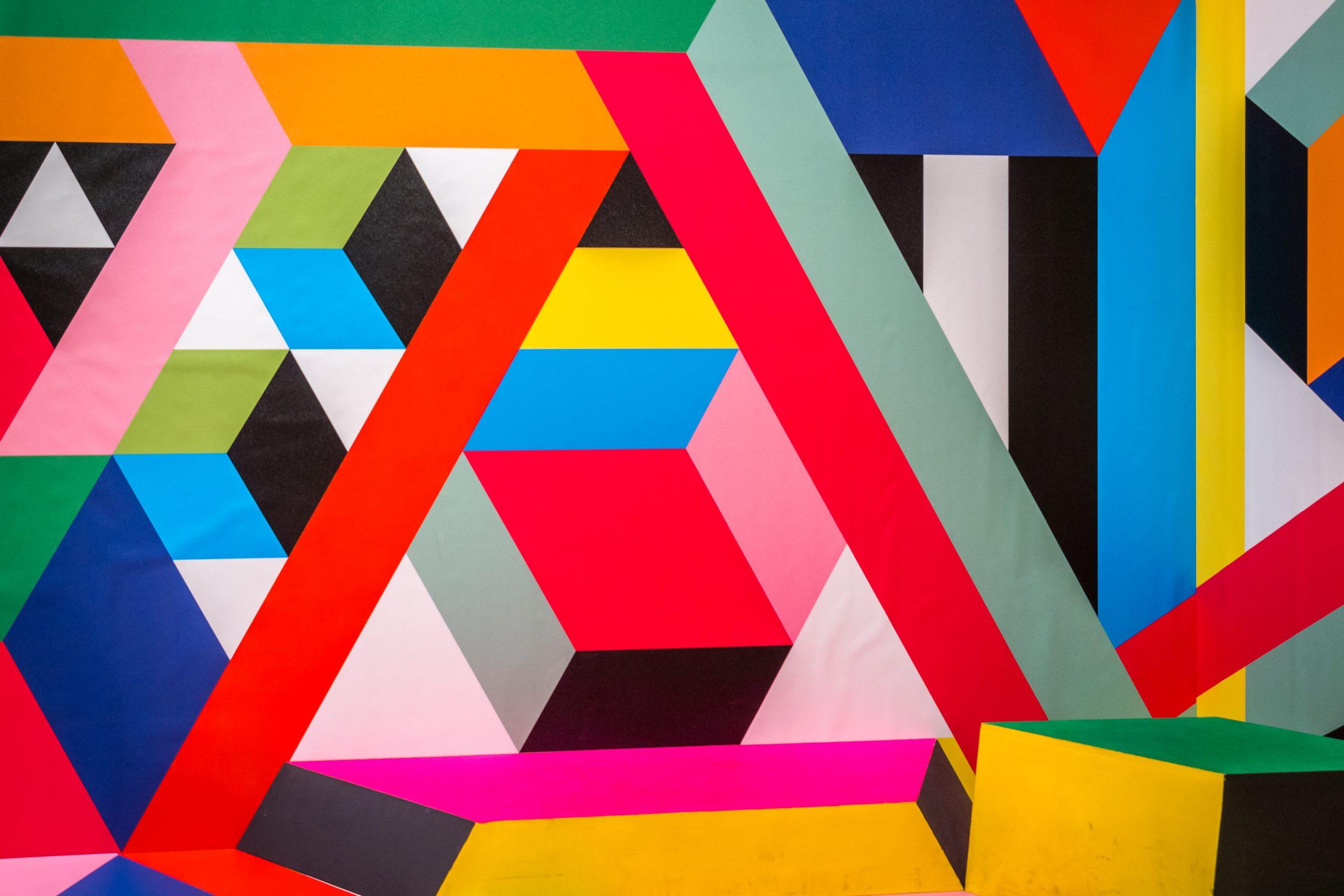 wallpaper Assorted-color wall art