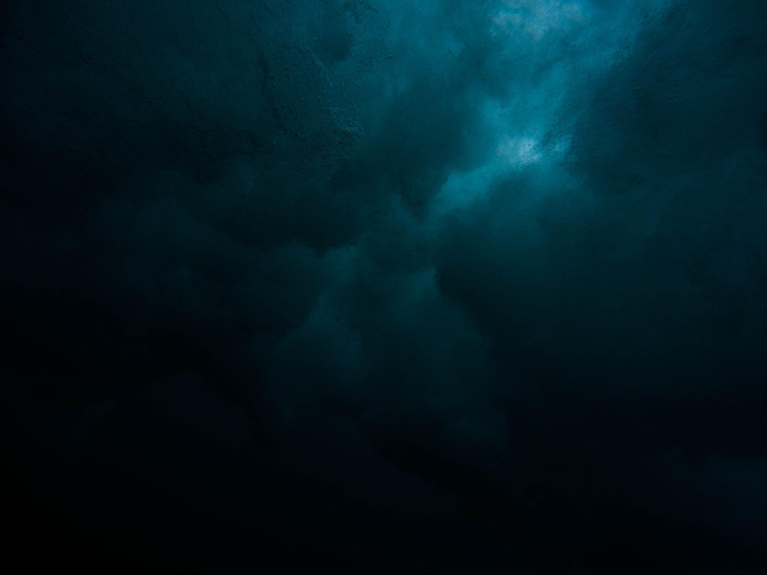 wallpaper Bleu black dark Wallpaper
