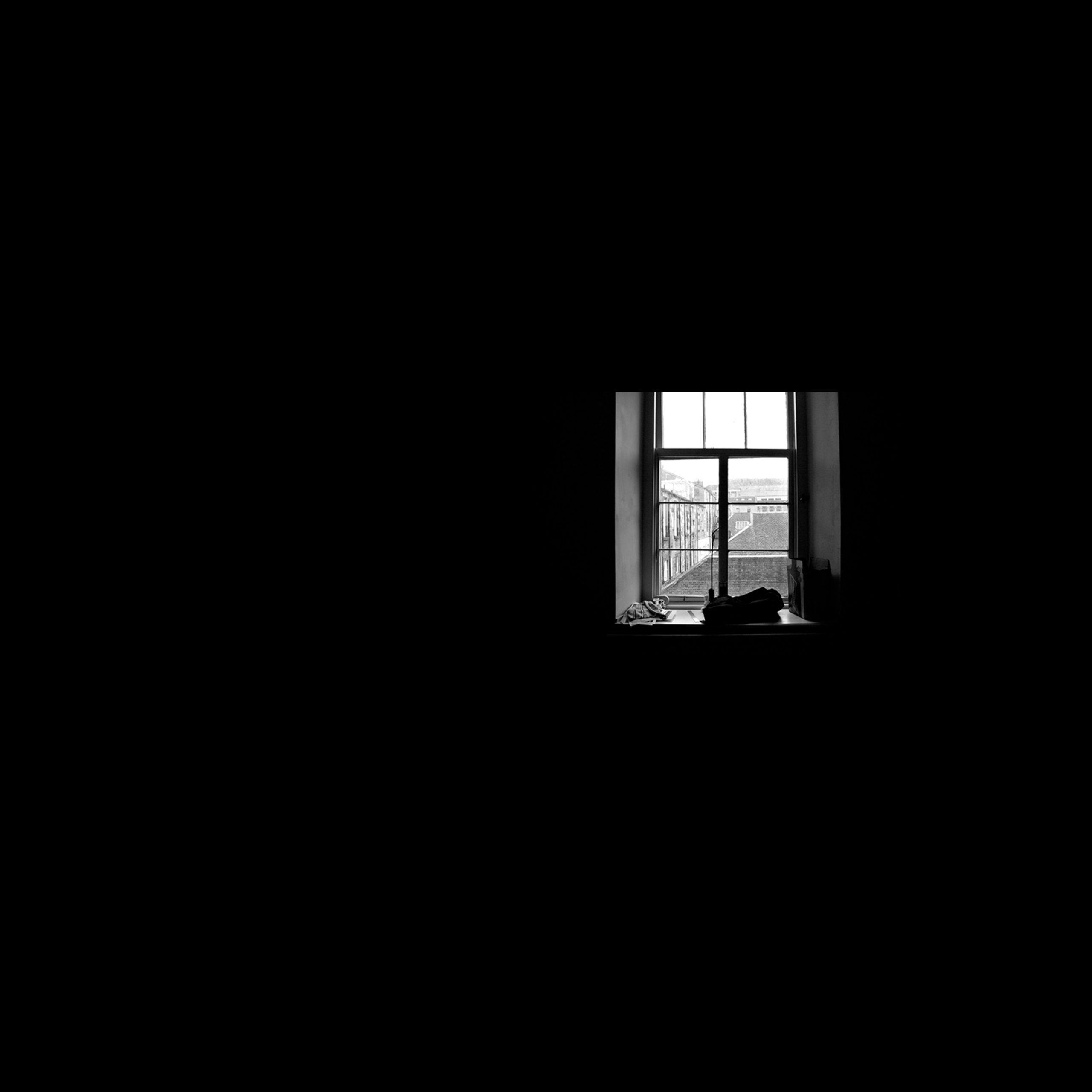 wallpaper Window inside dark room