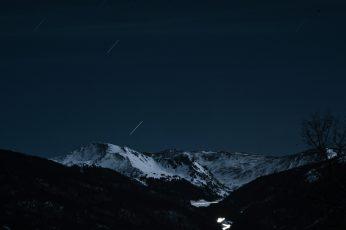 Black Mountain in the night