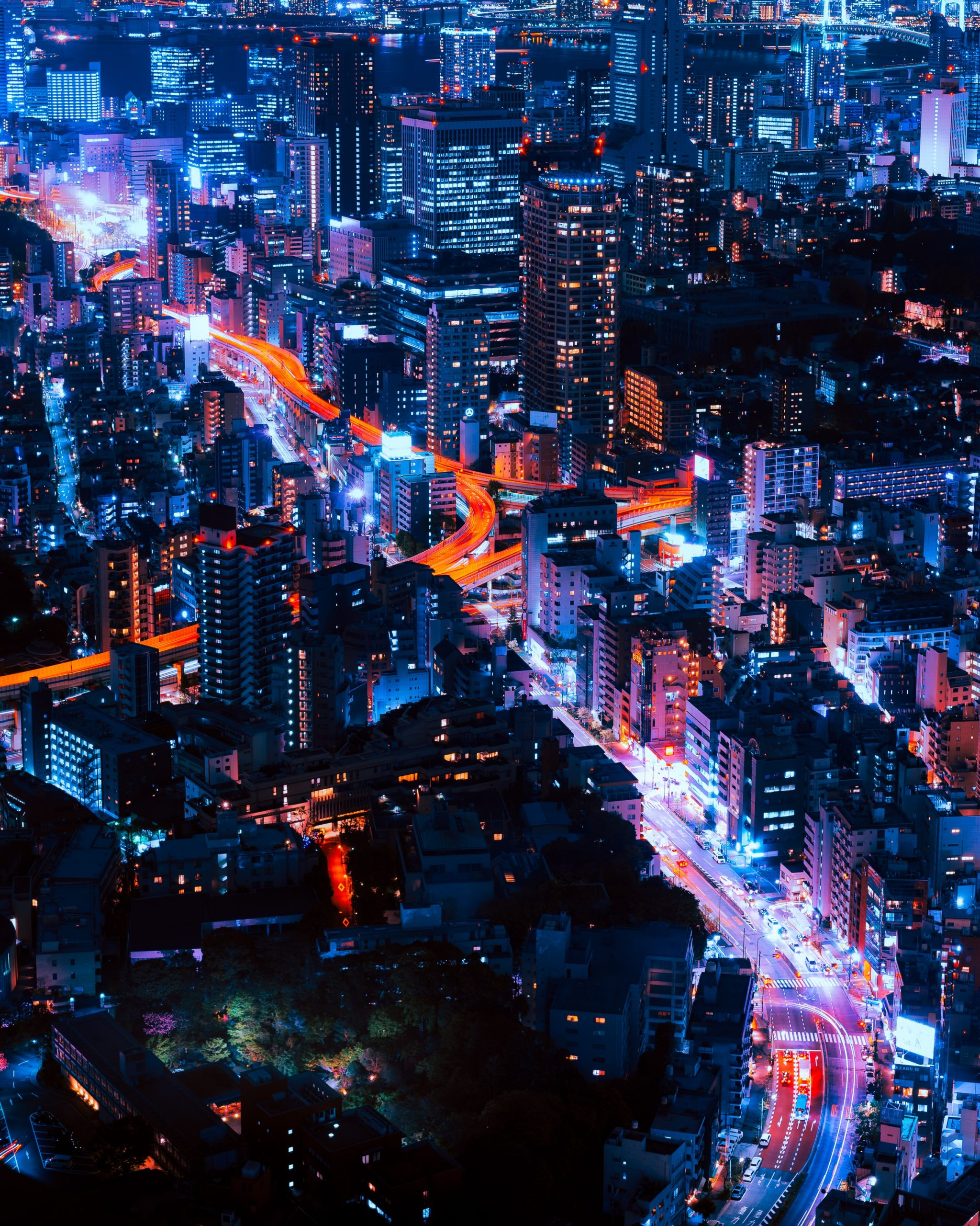 wallpaper Timelapse photography of vehicles and buildings