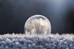 Bubble ice