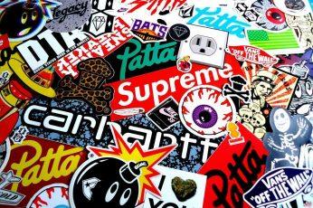 Dope stickers Wallpaper
