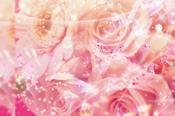 Glitter Girly Wallpaper