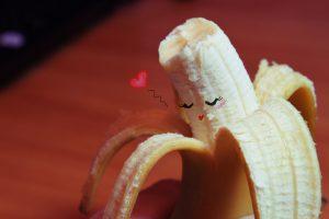 Banana love wallpaper