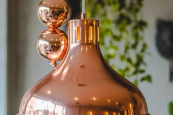 Rose Gold pendant lamp