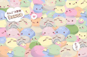 Dango Daikazoku Wallpaper