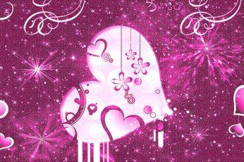 Pretty girly wallpaper