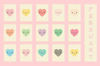 February Cute Wallpaper