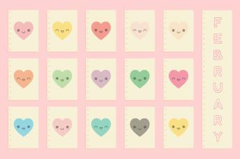 February Cute Wallpaper