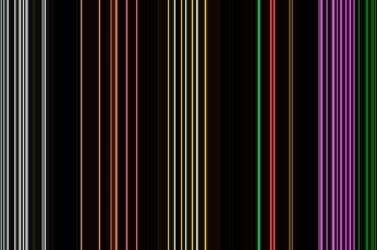 Neon Line Wallpaper
