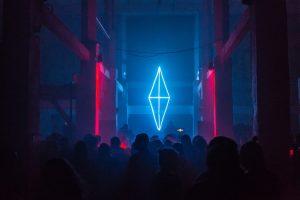 Neon Party Wallpaper