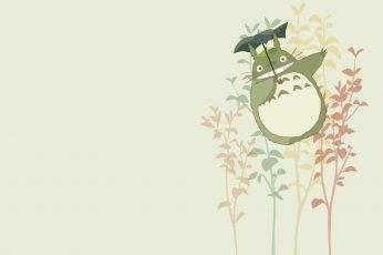 Totoro Kawaii Wallpaper