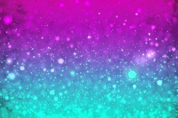 Kawaii Glitter Wallpaper