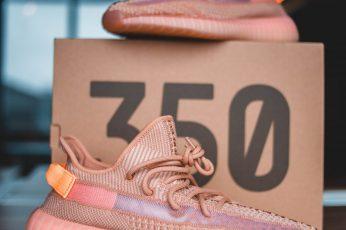 Pink Adidas Yeezy Boost 350