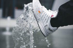 Nike Air shoe at daytime