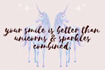 Unicorn Quote Wallpaper