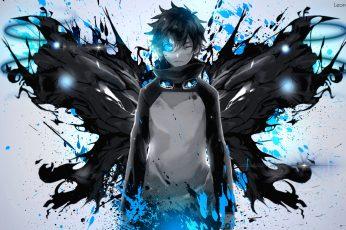 Wallpaper: Kekkai Sensen, anime, anime boys, blue, Leonardo Watch