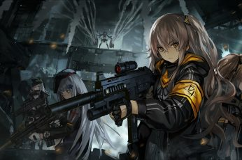 Wallpaper: female anime characters wallpaper, anime girls, Girls Frontline