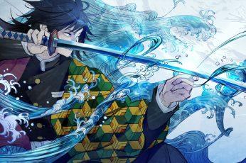 Anime, Demon Slayer: Kimetsu no Yaiba, Giyuu Tomioka