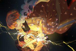 Anime, Demon Slayer: Kimetsu no Yaiba, Zenitsu Agatsuma