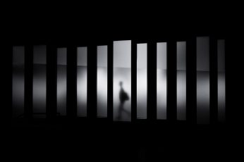 Shadow Black Wallpaper