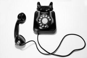 Dial telephone wallpaper