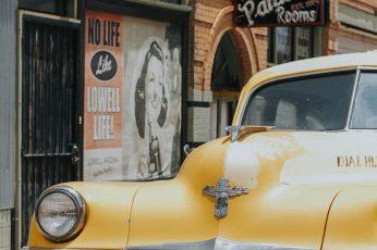 Vintage Taxi wallpaper