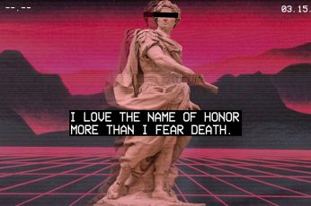 Wallpaper Vaporwave Roman Greek