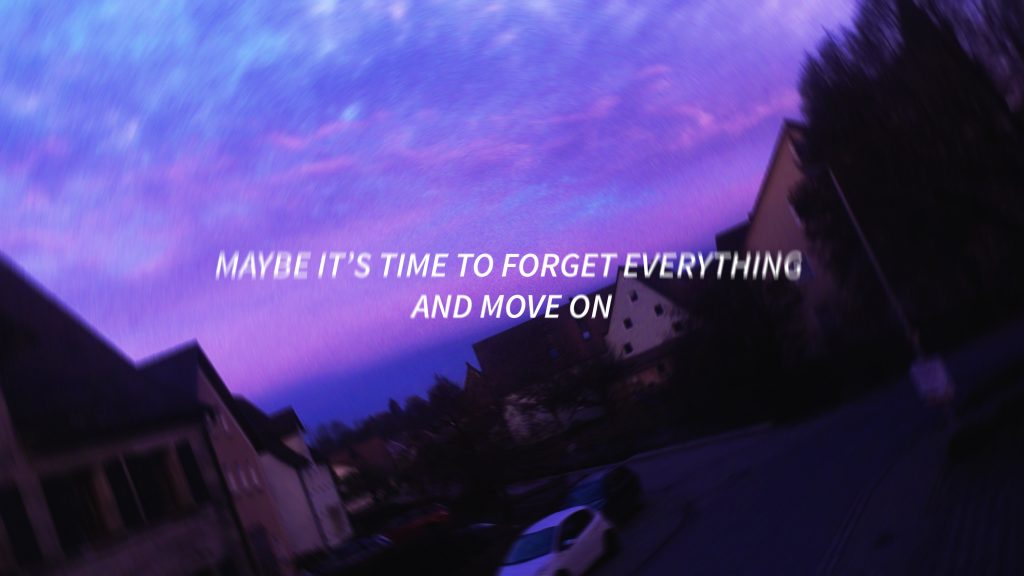 Aesthetic Wallpaper Quote Purple Background Purple Sky