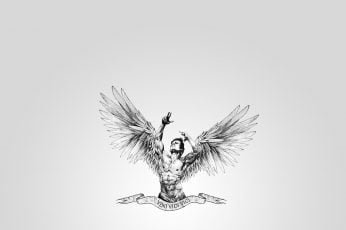 Wings, muscle, bodybuilding, zyzz, veni, aesthetic, vici, aesthetics wallpaper