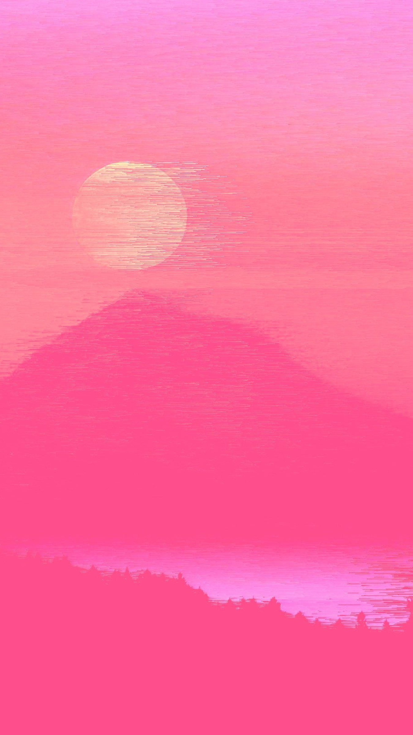 Aesthetic Wallpaper • Neon aesthetic pink color colored ...