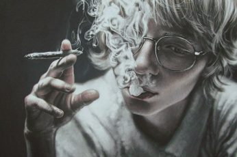 drawing illustration smoke smoking hand aesthetic realistic wallpaper