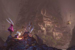 Vincent Bisschop, Hollow Knight, fantasy art, video games wallpaper