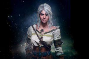 Wallpaper Ciri, fantasy girl, The Witcher 3: Wild Hunt, video game art