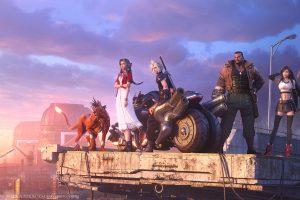 Final Fantasy VII wallpaper, Final Fantasy VII: Remake, video games, video game art
