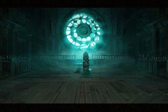 Wallpaper Game illustration, digital art, artwork, video games, Bloodborne