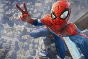 Wallpaper Marvel Spider-Man wallpaper, video games, Spider-Man (2018), Marvel Comics