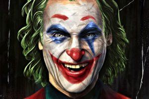 Joker (2019 Movie) Gotham City paintbrushes DC Comics Batman wallpaper