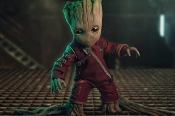 Movie Guardians of the Galaxy Vol. 2 Baby Groot wallpaper
