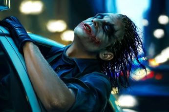 The Joker screengrab movies The Dark Knight Batman Heath Ledger wallpaper