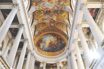 Château de Versailles palace gold marble murales wallpaper