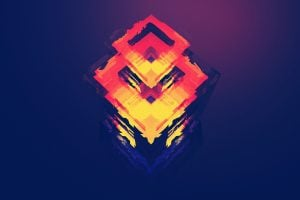 Digital art, polygon, graphics, abstract art wallpaper