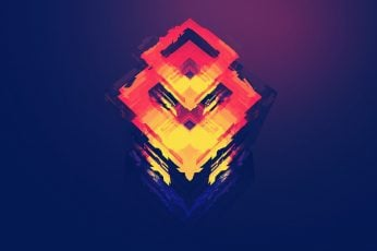 Digital art, polygon, graphics, abstract art wallpaper