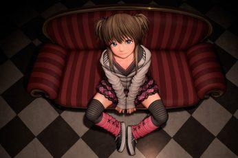 Female anime character wallpaper, anime girls, original characters