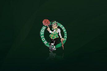Basketball wallpaper, Boston Celtics, Logo, NBA