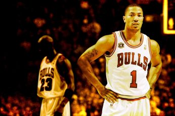 Derrick Rose wallpaper, NBA, basketball, Michael Jordan, Chicago